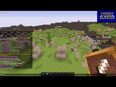 Ultra UHC using Shaders