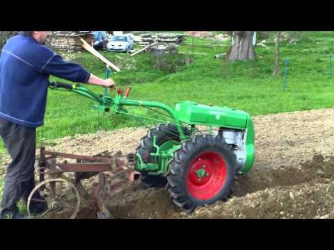 Půdní fréza PF 62 - řádkování políčka pro brambory