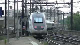 SNCF - Nimes, TGV, Fret, AVE, Intercités, TER, Lyria [été 2014]