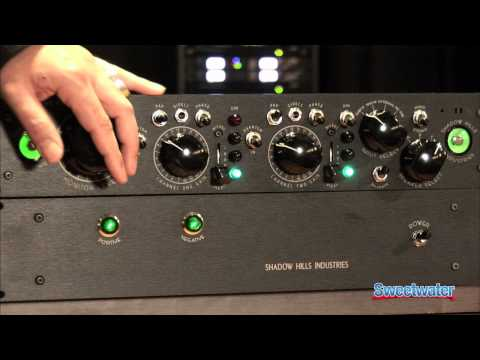 Shadow Hills Industries Equinox Monitor Controller and Summing Box Overview - Sweetwater Sound