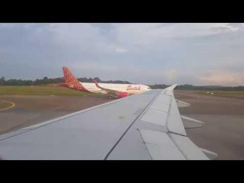 Citilink QG 844 (CGK-BTH) Landing at Hang Nadim Airport