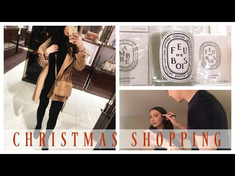 COME CHRISTMAS SHOPPING WITH ME | VLOG