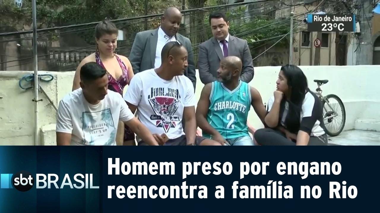Motorista reencontra família após passar 7 dias preso por engano | SBT Brasil (21/07/18)
