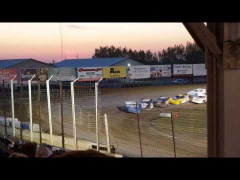 Joey Pederson Late Model feature race May 12th, 2017 Pt.2