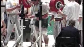 WC powerlift 1993 125 World Championship 1993 125  part 4