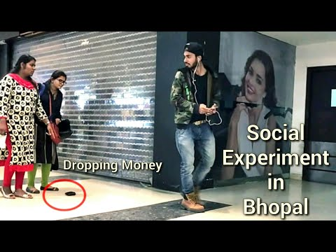 Dropping Money Prank (Social Experiment) in Bhopal