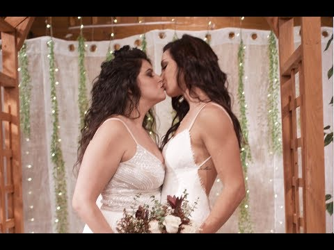 OUR LESBIAN WEDDING!!!!! thumbnail