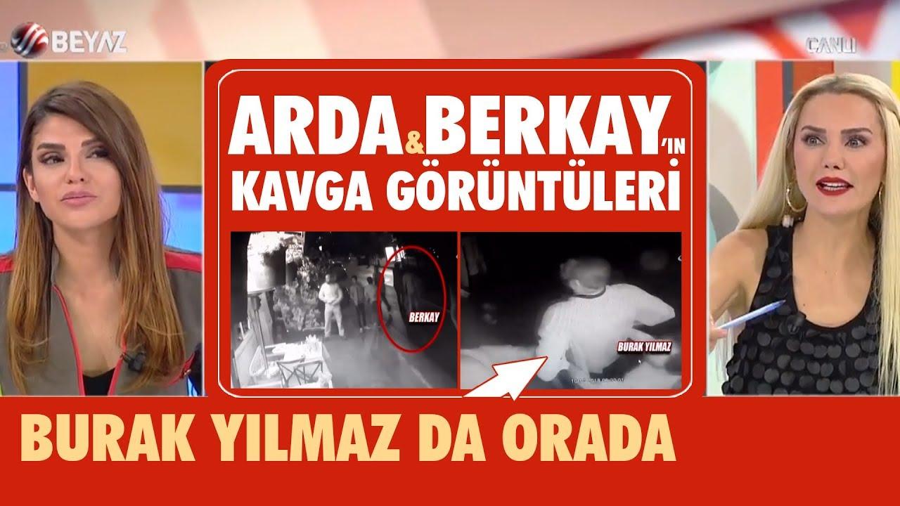 Arda Turan ile Berkay kavgasının görüntüleri (Burak Yılmaz da var)