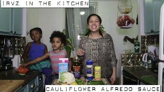 How to make an easy Cauliflower based Alfredo Sauce