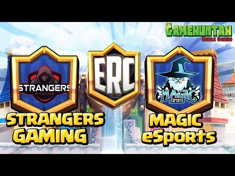 ELITE ROYALE CUP  - STRANGERS GAMING (Mexico) vs MAGIC eSports (Colombia)  (Grupo G) | Clash Royale