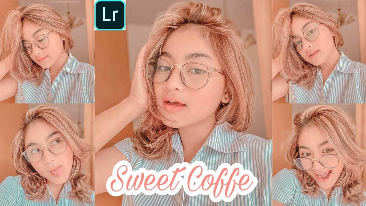 Tutorial Edit Foto Selfie |Sweet Coffe| LIGHTROOM TUTORIAL