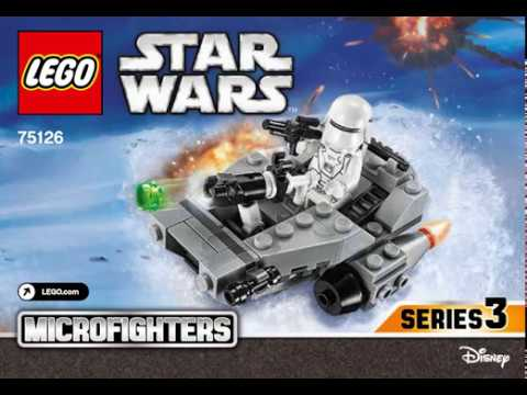 Lego Instructions Microfighters Set 75126 First Order