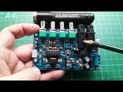 Julian's Postbag: #58 - Karaoke Reverb PCB, Dynamic Mic