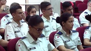 Alunos do Colégio Tiradentes visitam a Câmara. 03.05.18
