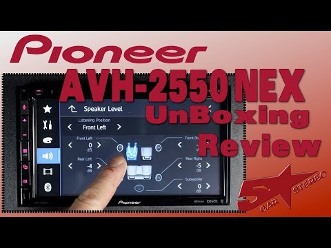 The New Pioneer AVH 2550Nex Unboxing And Review
