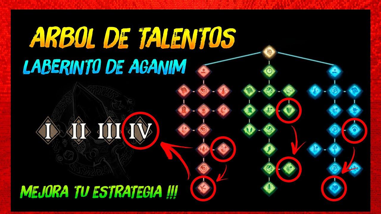 Árbol de Talentos del Laberinto de Aganim ► Battle Pass 2020 😍   Dota 2