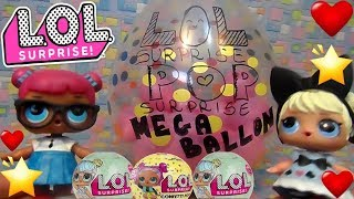 LOL SURPRISE #54 POP SURPRISE Mega Ballon! CONFETTI SUPER BELLA  By Lara e Babou