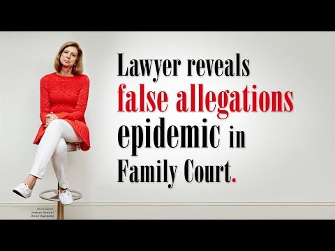 Family Lawyer Exposes The Domestic Violence Racket Corrupting Our Courts