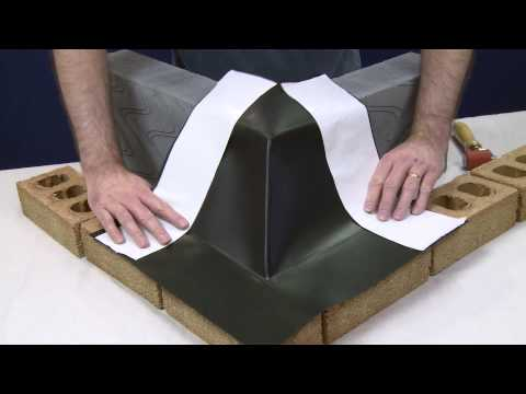 Visqueen Building Products - Zedex DPC Corner Unit Installation