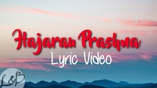 B-8EIGHT | Thujey - Hajarau Prashna (Lyrics)
