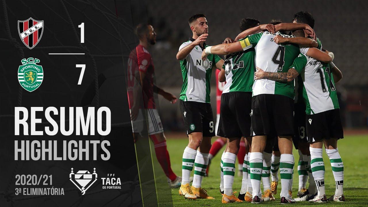 Highlights | Resumo: Sacavenense 1-7 Sporting (Taça de Portugal 20/21)