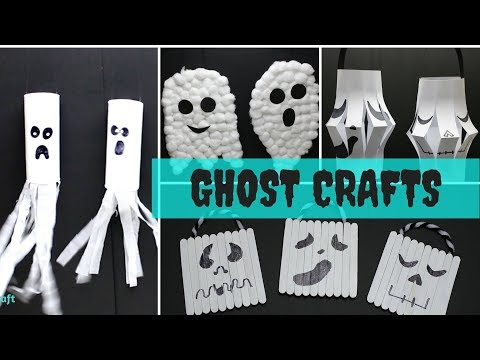 Halloween Ghost Craft for Kids | Halloween Crafts