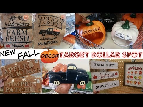 TARGET DOLLAR SPOT * FALL 2019!!! LOT'S OF NEW FINDS