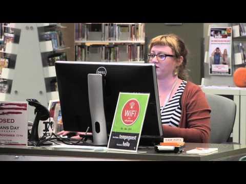 Tempe Public Library Tour