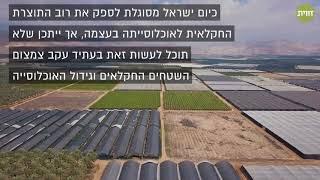 האם ישראל תוכל להאכיל את עצמה?