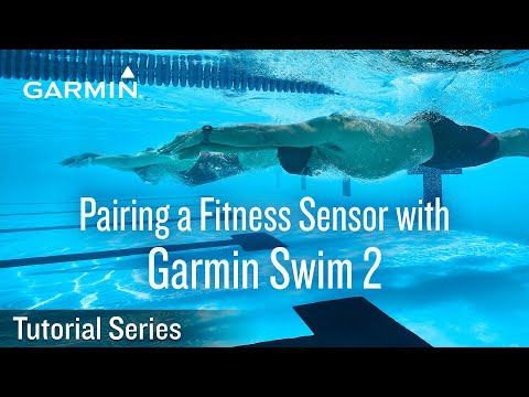 Tutorial - Support: Pairing a Fitness Sensor with a Garmin Swim 2 thumbnail