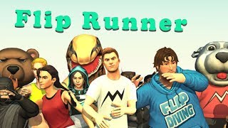 Flip Runner - MotionVolt Games Wolkthrough