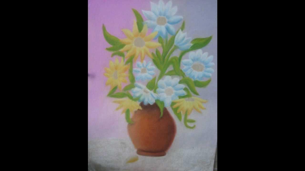 Paso a paso c mo pintar un cuadro al pastel youtube - Como pintar cuadros faciles ...