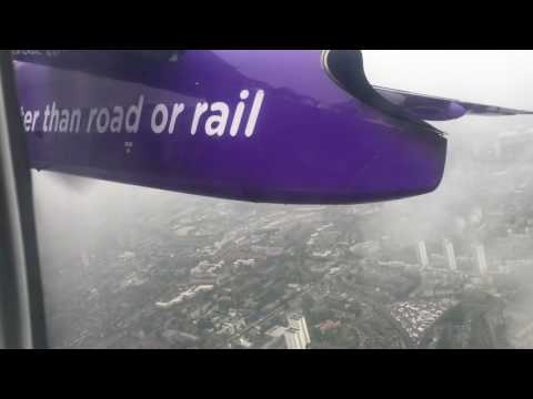 Flybe Dash-8 London City- Belfast City (full flight)