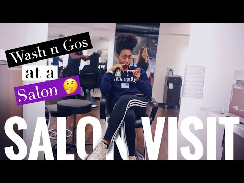 Christmas And My 1st SALON VISIT In 3 Years!  (Natural Hair) ISSA VLOG Yalll
