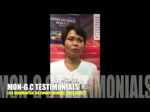 MON G C - LITA REBAMONTAN TESTIMONY