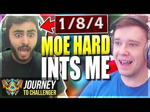 MOE HARD INTS ME IN MY MASTER PROMOS???? - Journey To Challenger  League of Legends