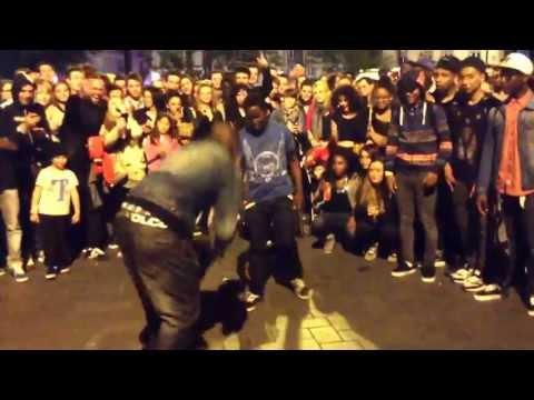 Battle improvisé place Commerces à Nantes - Fête de la musique