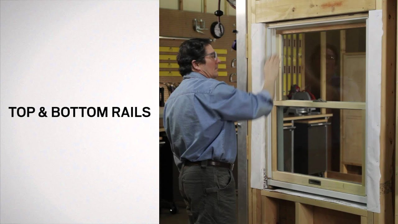 Identifying The Parts Of A Narroline Window Andersen Windows