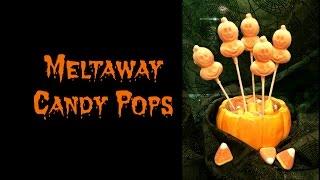 Halloween Meltaway Candy Pops (raw Vegan)