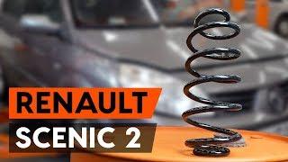 Come sostituire molle di sospensione anteriori su RENAULT SCENIC 2 (JM) [VIDEO TUTORIAL DI AUTODOC]