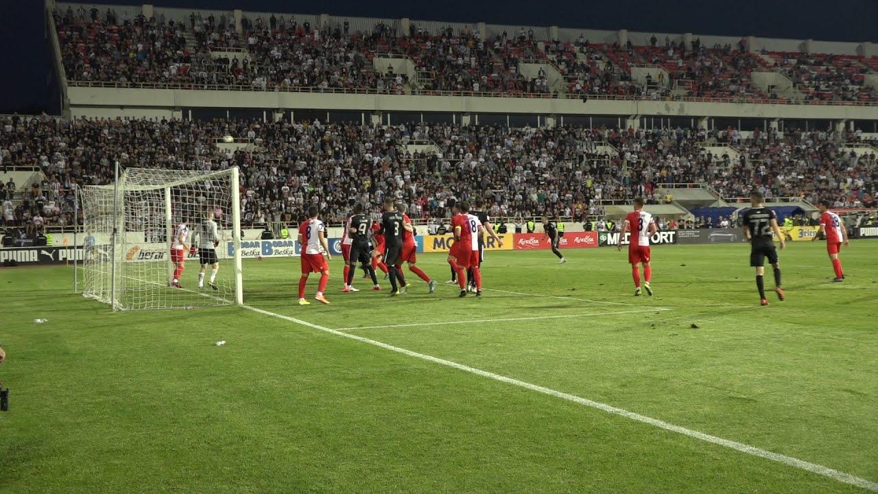 Golovi i atmosfera sa finalne utakmice Kupa Srbije FK Vojvodina - FK Partizan