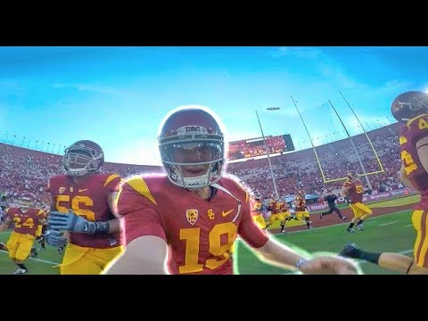 USC FOOTBALL vs Washington Football - Gameday FILMED BY PLAYER!! (Conner Sullivan)