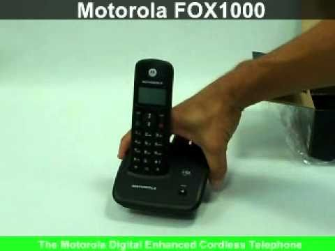 motorola cordless phone model no fox1000 youtube rh youtube com Xbox Controller Manual motorola d1000 user manual