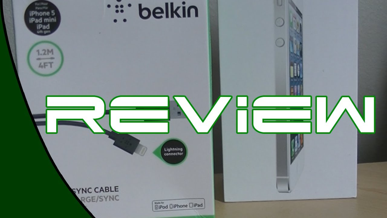 Review- Belkin Lightning Cable & Review- Belkin Lightning Cable - YouTube azcodes.com