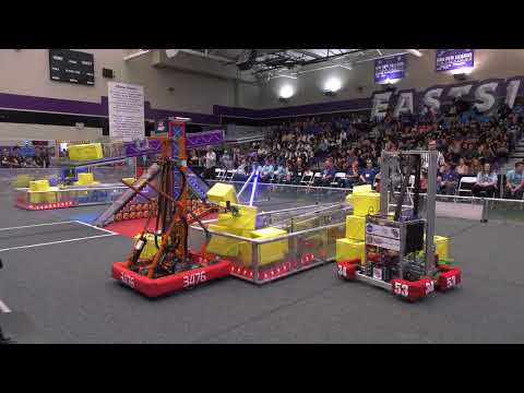 NASA Sponsors Antelope Valley's Inaugural FIRST Robotics Competition