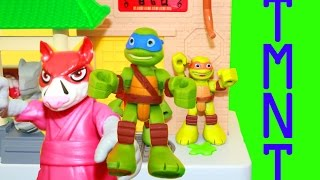 Tmnt Ninja Turtles Teenage Mutant Half Shell Heroes Sewer Unboxing Playset Action Figure Toys Review