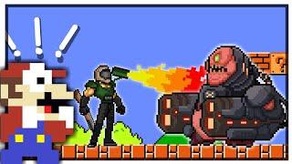 🍄MARIO BROS. & DOOM💥Cartoon [Doom Eternal x Mario Mayhem‼️]