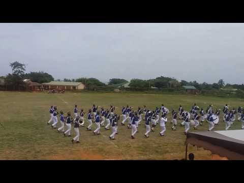 Laud displaying with A.W.D.B.C.B as they fall out @ Greater Accra Regional Band Festival '16