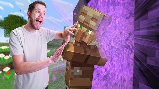 Can Villagers Go Into The Nether? | Minecraft