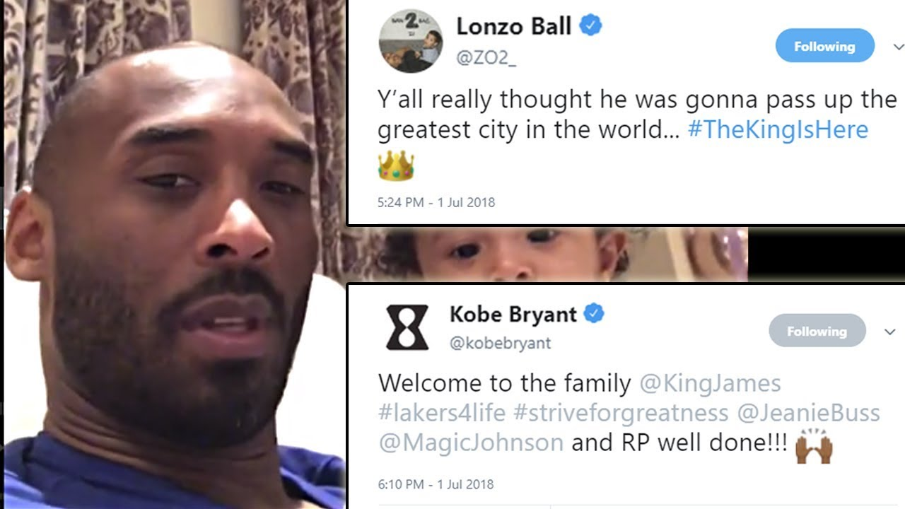 kobe-bryant-lonzo-ball-lakers-players-react-to-lebron-james-signing-with-la